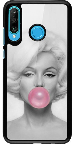 Coque Huawei P30 Lite - Marilyn Bubble