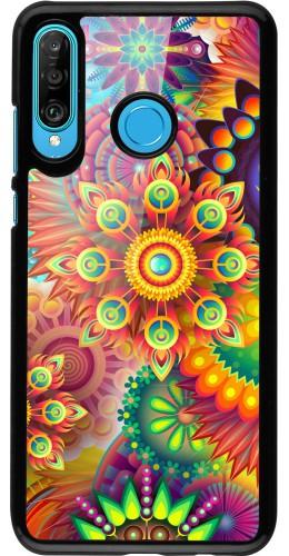 Coque Huawei P30 Lite - Multicolor aztec