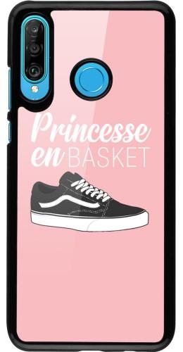 Coque Huawei P30 Lite - princesse en basket