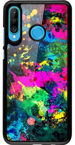 Coque Huawei P30 Lite - splash paint