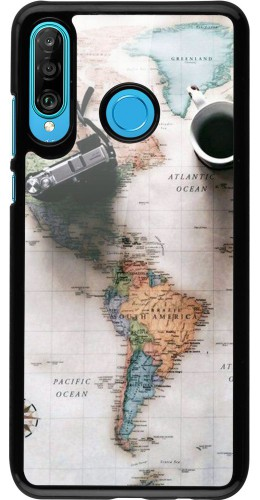 Coque Huawei P30 Lite - Travel 01