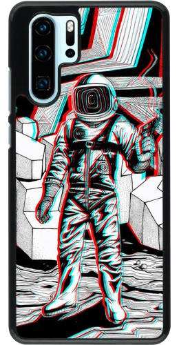 Coque Huawei P30 Pro - Anaglyph Astronaut