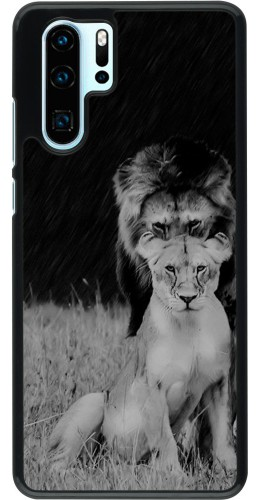 Coque Huawei P30 Pro - Angry lions
