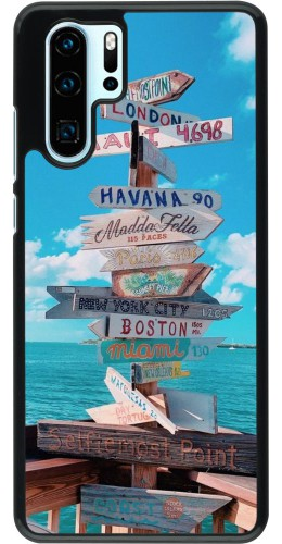 Coque Huawei P30 Pro - Cool Cities Directions