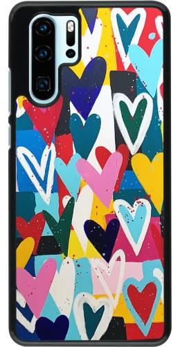 Coque Huawei P30 Pro - Joyful Hearts