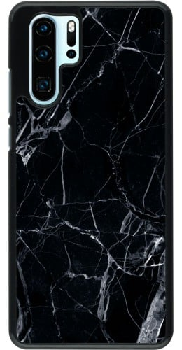 Coque Huawei P30 Pro - Marble Black 01