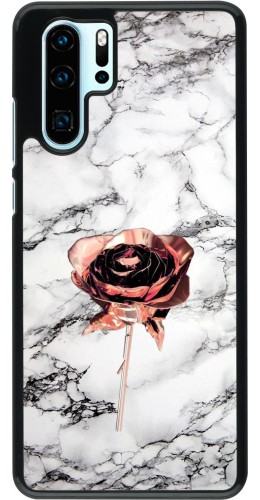 Coque Huawei P30 Pro - Marble Rose Gold