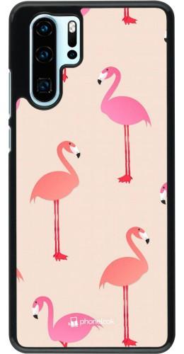 Coque Huawei P30 Pro - Pink Flamingos Pattern