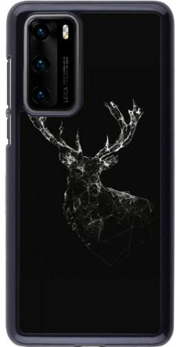 Coque Huawei P40 - Abstract deer