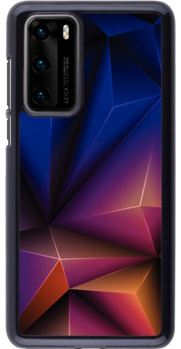 Coque Huawei P40 - Abstract Triangles