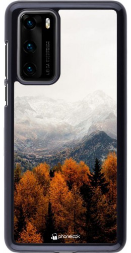 Coque Huawei P40 - Autumn 21 Forest Mountain