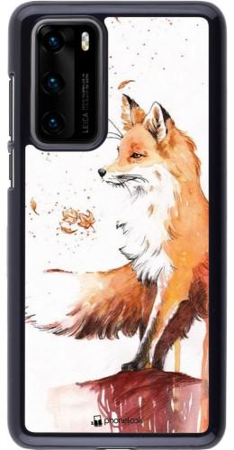 Coque Huawei P40 - Autumn 21 Fox
