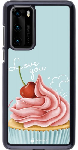 Coque Huawei P40 - Cupcake Love You