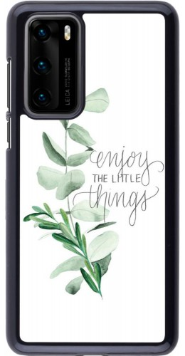 Coque Huawei P40 - Enjoy the little things