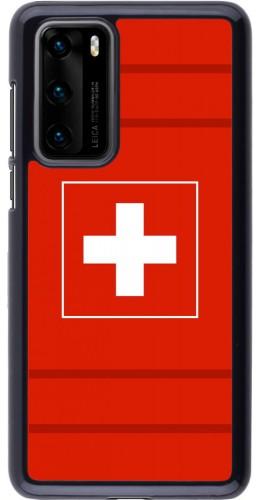 Coque Huawei P40 - Euro 2020 Switzerland