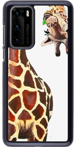 Coque Huawei P40 - Giraffe Fit