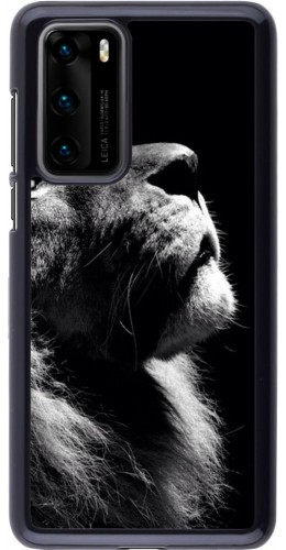 Coque Huawei P40 - Lion looking up