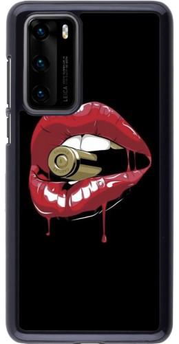 Coque Huawei P40 - Lips bullet