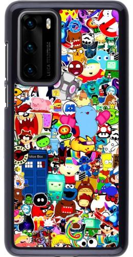 Coque Huawei P40 - Mixed cartoons