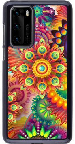 Coque Huawei P40 - Multicolor aztec