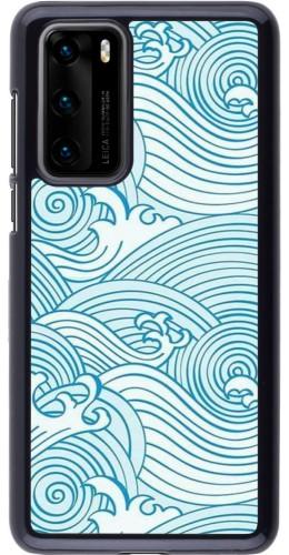 Coque Huawei P40 - Ocean Waves