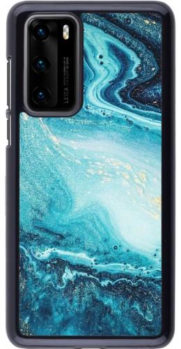 Coque Huawei P40 - Sea Foam Blue