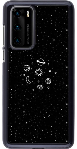 Coque Huawei P40 - Space Doodle