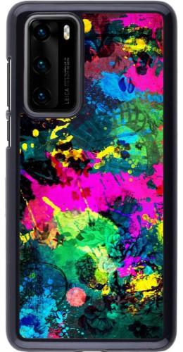 Coque Huawei P40 - splash paint