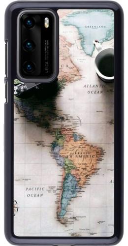 Coque Huawei P40 - Travel 01