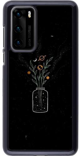 Coque Huawei P40 - Vase black