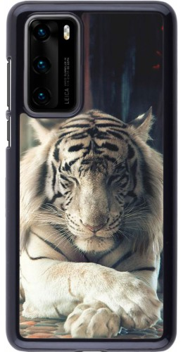 Coque Huawei P40 - Zen Tiger