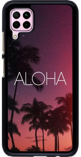 Coque Huawei P40 Lite - Aloha Sunset Palms
