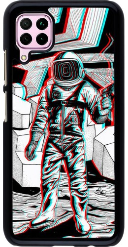 Coque Huawei P40 Lite - Anaglyph Astronaut