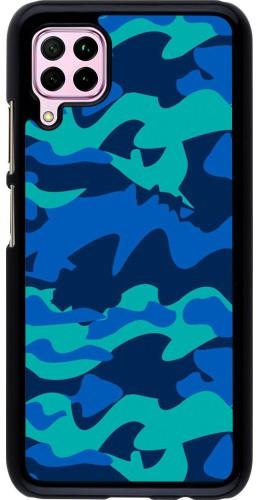 Coque Huawei P40 Lite - Camo Blue