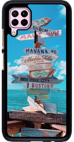 Coque Huawei P40 Lite - Cool Cities Directions