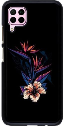 Coque Huawei P40 Lite - Dark Flowers