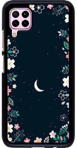Coque Huawei P40 Lite - Flowers space