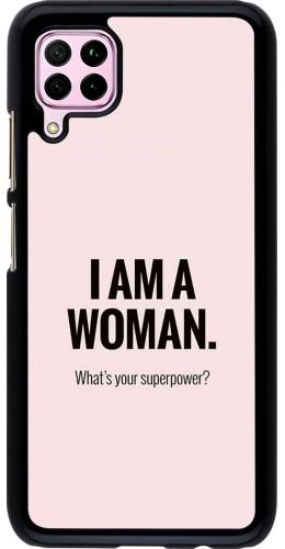 Coque Huawei P40 Lite - I am a woman