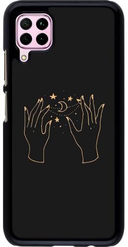 Coque Huawei P40 Lite - Grey magic hands