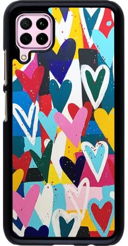 Coque Huawei P40 Lite - Joyful Hearts