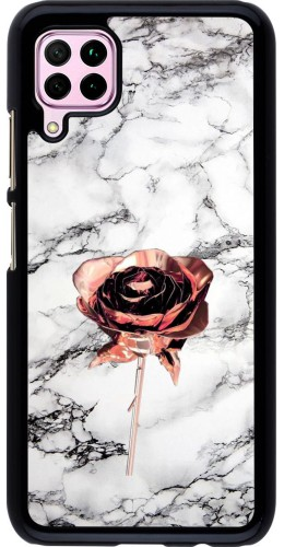Coque Huawei P40 Lite - Marble Rose Gold