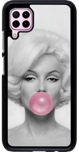 Coque Huawei P40 Lite - Marilyn Bubble