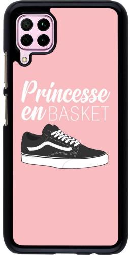 Coque Huawei P40 Lite - princesse en basket