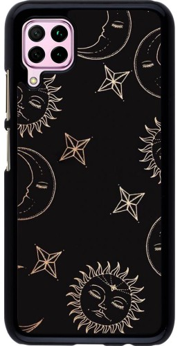 Coque Huawei P40 Lite - Suns and Moons