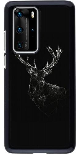 Coque Huawei P40 Pro - Abstract deer