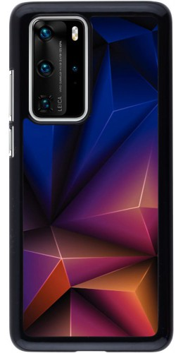 Coque Huawei P40 Pro - Abstract Triangles