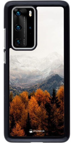 Coque Huawei P40 Pro - Autumn 21 Forest Mountain