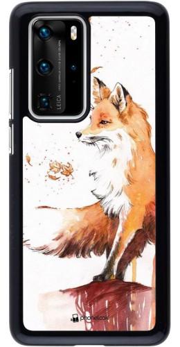 Coque Huawei P40 Pro - Autumn 21 Fox