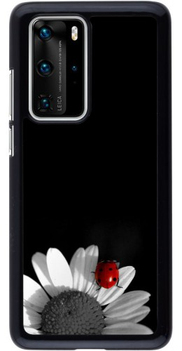 Coque Huawei P40 Pro - Black and white Cox
