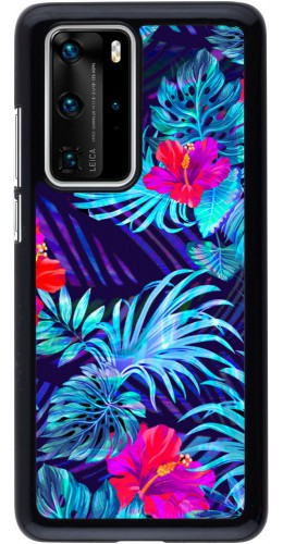 Coque Huawei P40 Pro - Blue Forest